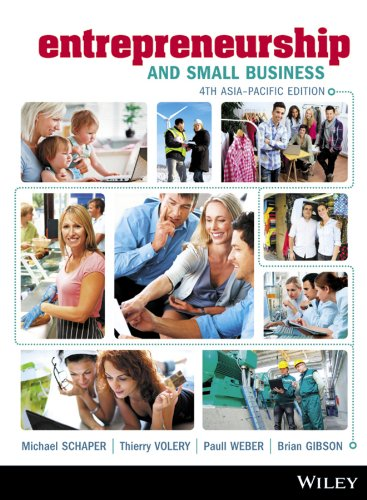 Entrepreneurship and Small Business: Schaper, Dr. Michael
