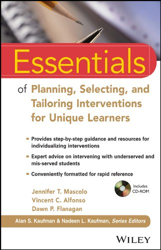 9781118368213: Essentials of Planning, Selecting, and Tailoring Interventio (Essentials of Psychological Assessment)