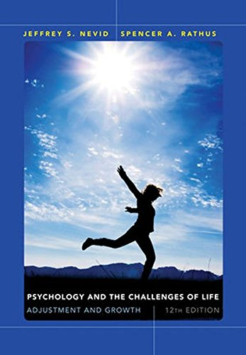 9781118370360: Psychology and the Challenges of Life: Adjustment and Growth