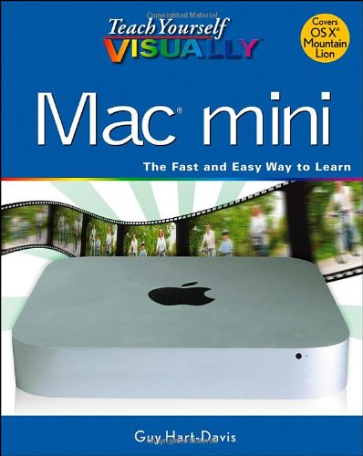 Teach Yourself VISUALLY Mac Mini (1118374878) by Hart-Davis, Guy
