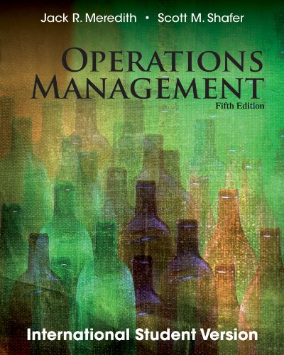 Operations Management: Meredith, Jack R.