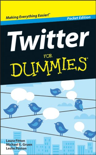 9781118384527: Twitter for Dummies
