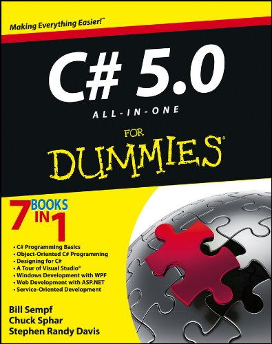 9781118385364: C# 5.0 All-in-One For Dummies