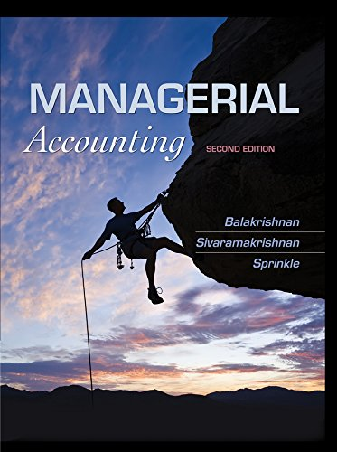 9781118385388: Managerial Accounting