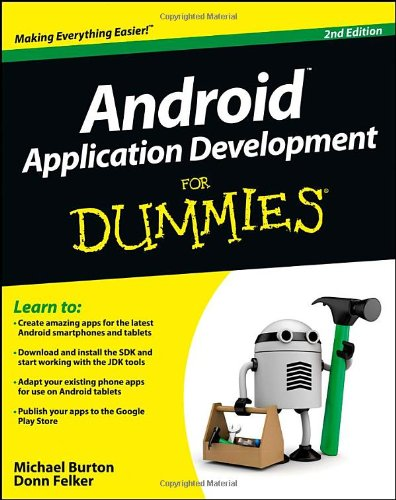 9781118387108: Android Application Development For Dummies