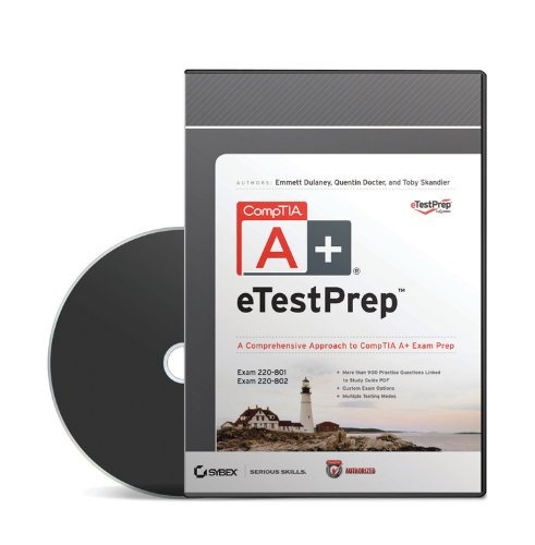 9781118388419: Comptia A+ Etestprep Authorized Courseware: Exams 220-801 and 220-802