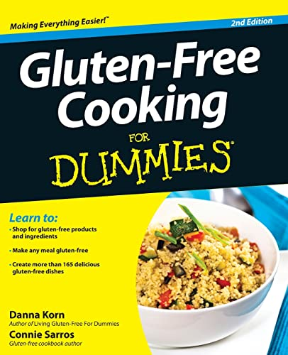 9781118396445: Gluten-Free Cooking For Dummies
