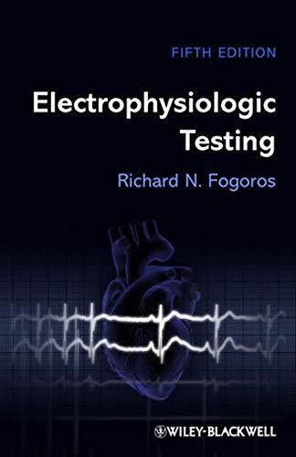 9781118399606: Electrophysiologic Testing