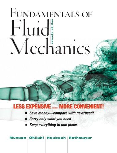 Fundamentals of Fluid Mechanics: Munson, Bruce R.,