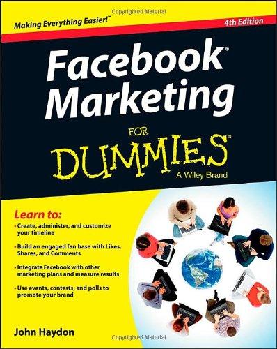 9781118400388: Facebook Marketing For Dummies