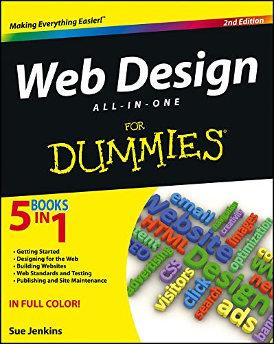 9781118404102: Web Design All-in-One For Dummies