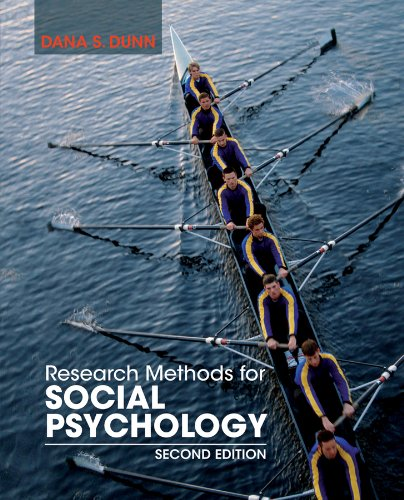 9781118406052: Research Methods for Social Psychology