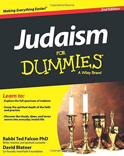 Judaism For Dummies (1118407512) by Rabbi Ted Falcon; David Blatner