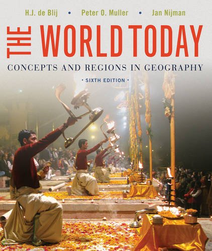 9781118411599: The World Today: Concepts and Regions in Geography