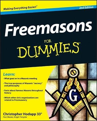 9781118412084: Freemasons FD, 2E (For Dummies)