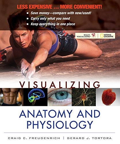 9781118425817: Visualizing Anatomy and Physiology 1e Binder Ready Version + WileyPLUS Registration Card