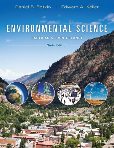 9781118427323: Environmental Science: Earth as a Living Planet