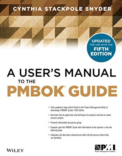 9781118431078: A User's Manual to the PMBOK Guide