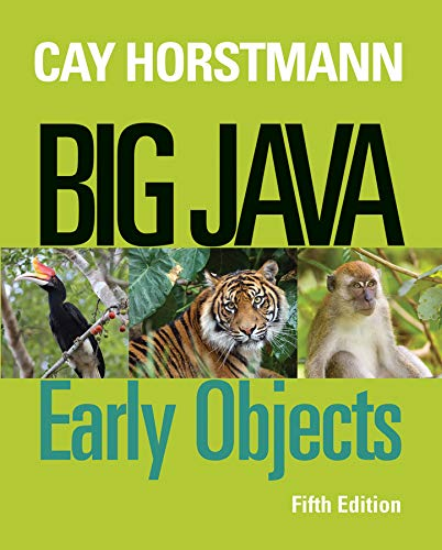 9781118431115: Big Java: Early Objects