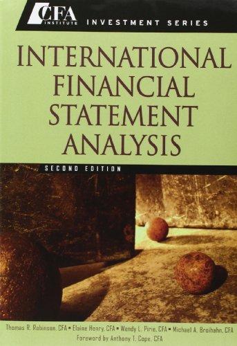 9781118432242: International Financial Statement Analysis, Second Edition Set (Book + Workbook)