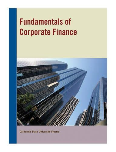 9781118433140: Fundamentals of Corporate Finance