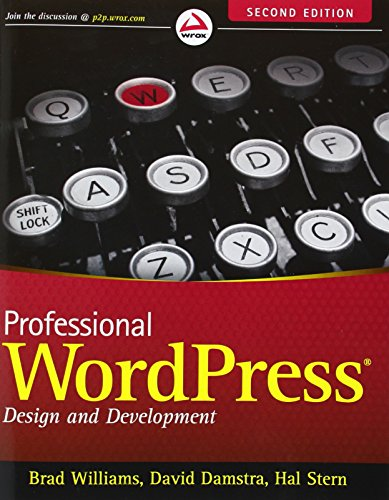 9781118442272: Professional WordPress: Design and Development