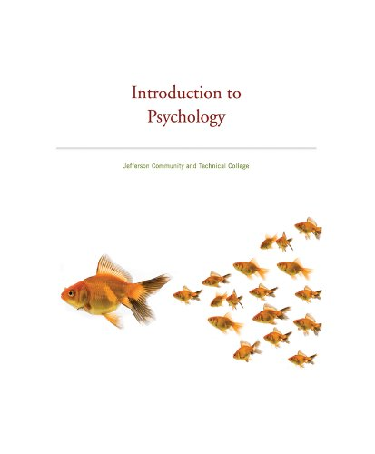 PSYCHOLOGY AROUND US Custom Edition for Jefferson Community and Techincal College: Comer, Ronald ...