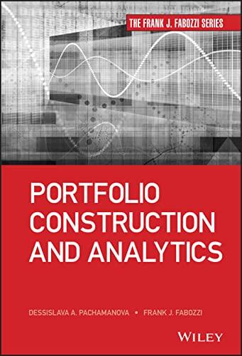 9781118445594: Portfolio Modeling Management (Frank J. Fabozzi Series)