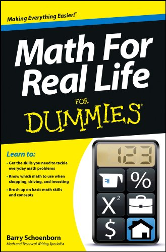 9781118453308: Math For Real Life For Dummies