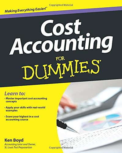 9781118453803: Cost Accounting For Dummies
