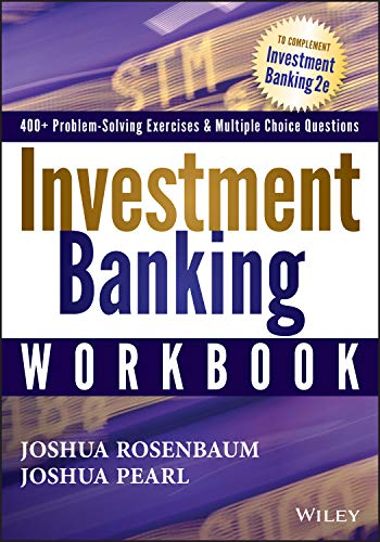 9781118456118: Investment Banking Workbook (Wiley Finance)