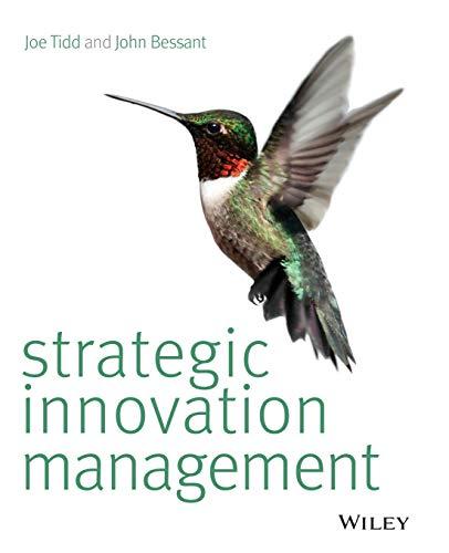 9781118457238: Strategic Innovation Management