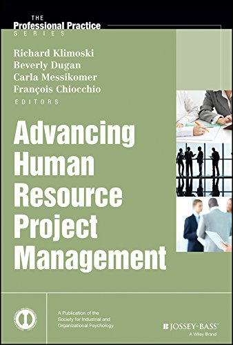 9781118458037: Advancing Human Resource Project Management