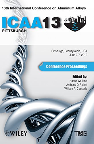 13th International Conference on Aluminum Alloys: ICAA 13