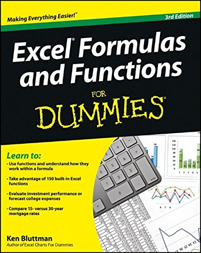 9781118460849: Excel Formulas and Functions For Dummies