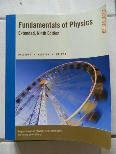 Fundamentals of Physics, Extended Custom, University of: HALLIDAY