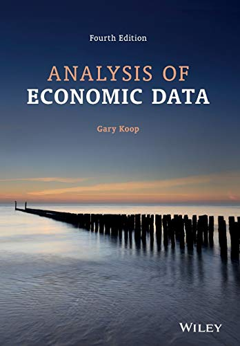 Analysis of Economic Data 4e: Koop