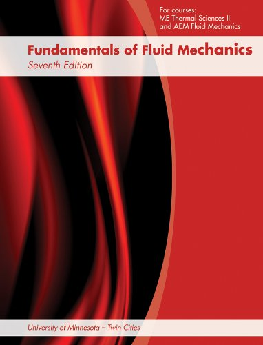 9781118474099: Fundamentals of Fluid Mechanics, 7th Edition