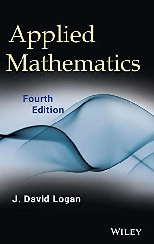 Applied Mathematics: Logan, J. David