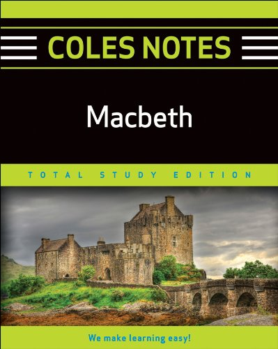 MACBETH (COLES NOTES TOTAL STUDY EDITION): SHAKESPEARE