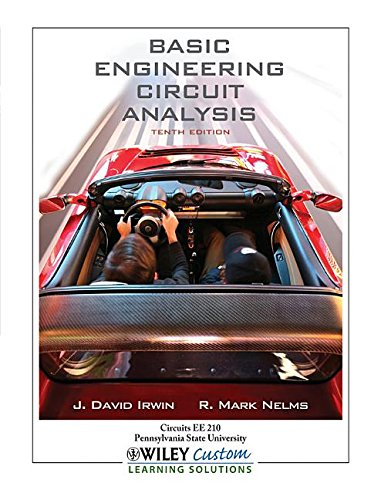 9781118486900: Basic Engineering Circuit Analysis Tenth Edition (Pennsylvania State University)