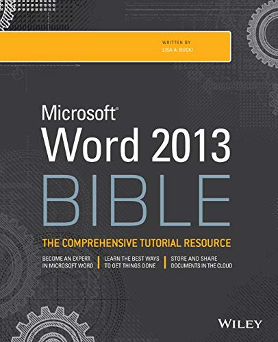 9781118488126: Microsoft Word 2013 Bible