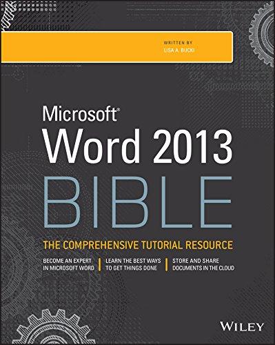 9781118488126: Word 2013 Bible
