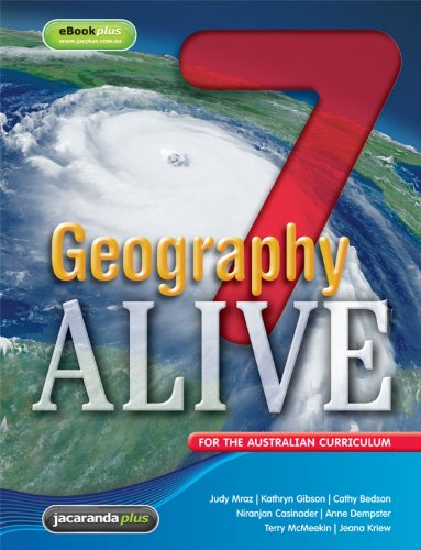 Geography Alive 7 for the Australian Curriculum & eBookPLUS (Paperback): Judy Mraz