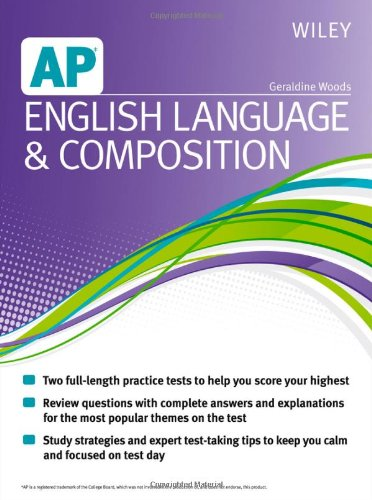 9781118490174: Wiley AP English Language and Composition