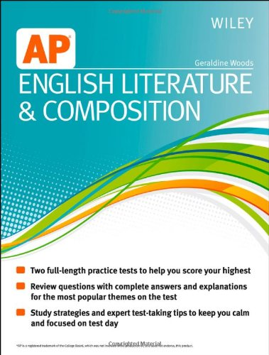 9781118490198: Wiley AP English Literature and Composition
