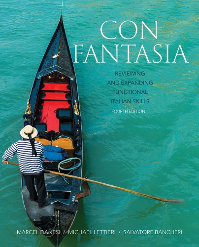 9781118491560: Con Fantasia: Reviewing and Expanding Functional Italian Skills