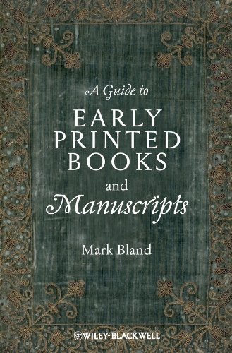 9781118492154: A Guide to Early Printed Books and Manuscripts