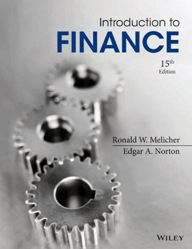 9781118492673: Introduction to Finance Markets, Investments, and Financial Management 15E