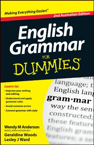 9781118493274: English Grammar for Dummies, Second Australian Edition